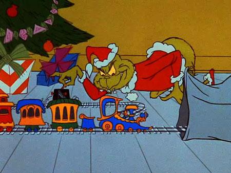 Astonishing Dec 24 How The Grinch Stole Christmas A Cartoon Christmas Easy Diy Christmas Decorations Tissureus