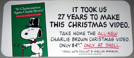 Dec. 7 – It's Christmastime Again, Charlie Brown – A Cartoon Christmas