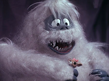 Rudolph the red nosed reindeer snow monster - photo#9