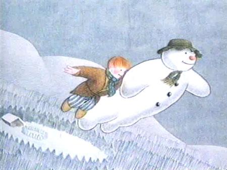 snowman-fly
