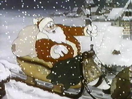 50 joyous pics of cartoon santas - Christmas Classic Cartoons