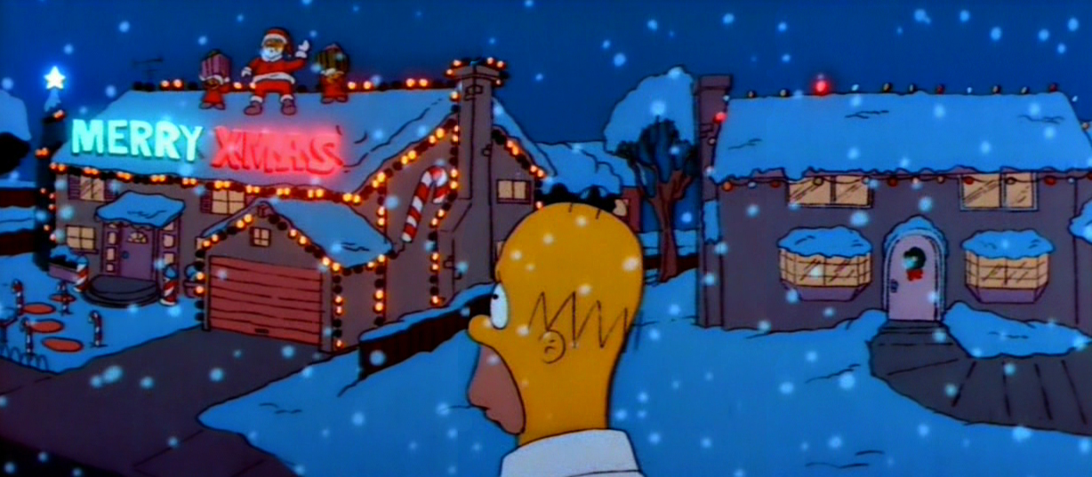 Dec 24. – The Simpsons: Simpsons Roasting on an Open Fire – A ...