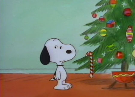 a scene from the pretty damned good its christmas time again charlie brown made in 1992 - When Was Charlie Brown Christmas Made