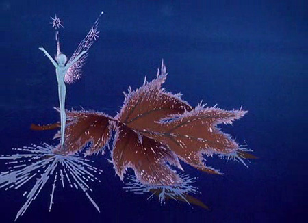 Dec 2 snowy christmas imagery from disney movies a for Sfondi fantasia